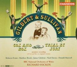 Gilbert & Sullivan: Cox & Box; Trial by Jury