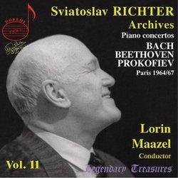 Sviatoslav Richter, Archives 11