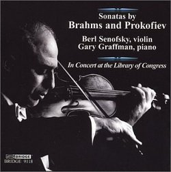 Sonatas by Brahms and Prokofiev