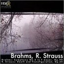Brahms: Symphony No. 3; Richard Strauss: Death and Transfiguration