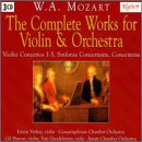 W. A. Mozart: The Complete Works for Violin & Orchestra