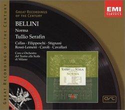 Bellini: Norma (complete opera) EMI's Great Recordings of the Century with Maria Callas, Tullio Serafin, Chorus & Orchestra of La Scala, Milan