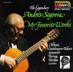 The Segovia Collection, Vol. 3: My Favorite Works