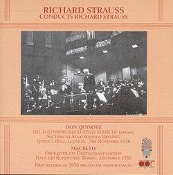 Conducts Richard Strauss: Don Quixote