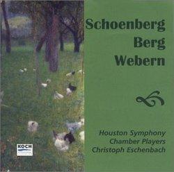 Schoenberg, Berg and Webern