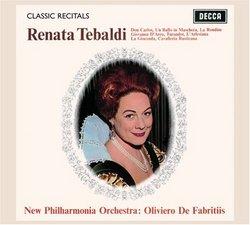 Classic Recitals: Renata Tebaldi