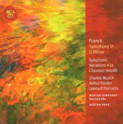 Franck: Symphony in D minor; Symphonic Variations; Le Chasseur maudit