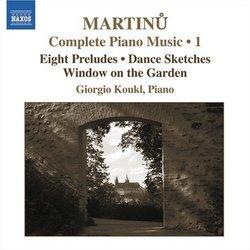 Martinu: Complete Piano Music, Vol. 1