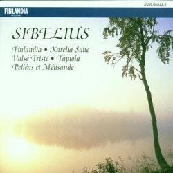 Sibelius: Finlandia, Karelia, Tapiola, Pelleas & Melisande, Valse Triste