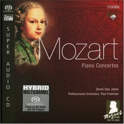 Mozart: Piano Concertos [Box Set] [Hybrid SACD]