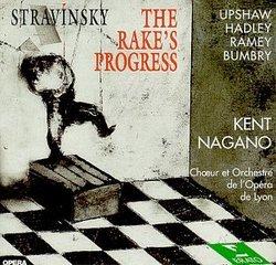 Stravinsky: The Rake's Progress / Upshaw, Hadley, Ramey, Bumbry; Nagano