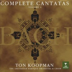 Bach Complete Cantatas Vol. 4 / Amsterdam Baroque Orchestra · Koopman