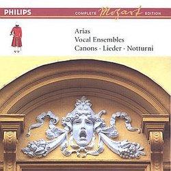 Mozart: Arias; Vocal Ensembles; Canons; Lieder; Notturni [Box Set]