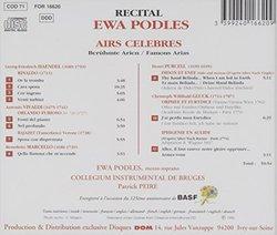 Airs Celebres: Haendel Vivaldi?