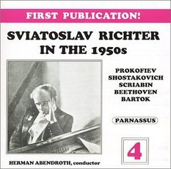 Sviatoslav Richter in the 1950s, Volume 4