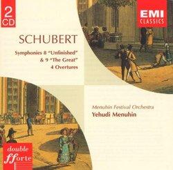 Schubert: Symphonies 8 & 9 / Overtures