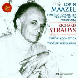 Richard Strauss:  Dinfonia Domestica/Death and Transfiguration - Lorin Maazel/Bavarian Radio Symphony Orchestra [Dolby Surround]