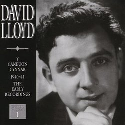 David Lloyd: Early Song Recordings 1940-41, Volume 1