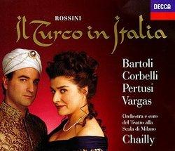Rossini - Il Turco in Italia / Bartoli, Corbelli, Pertusi, Vargas, Teatro alla Scala, Chailly
