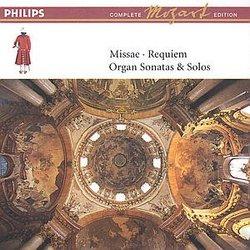Mozart: Missae; Requiem; Organ Sonatas & Solos [Box Set]