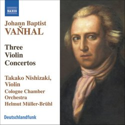 Johann Baptist Vanhal: Violin Concertos