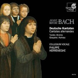 German Cantatas Before Bach / Herreweghe, Collegium Vocale