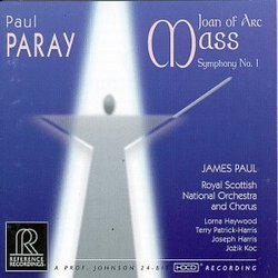 Paray: Symphony No.1 In C/Mass For The 500th Anniversary Of The Death Of Joan Of Arc