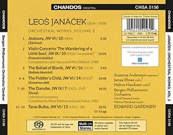 Leos Janácek: Orchestral Works, Vol. 2