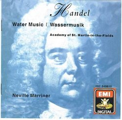 Handel: Water Music Marriner