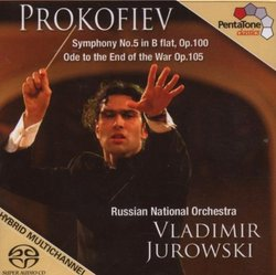 Prokofiev: Symphony No. 5; Ode To The End of the War [SACD]