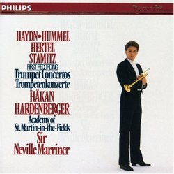 Hakan Hardenberger plays Haydn Hertel Hummel Stamitz: Trumpet Concertos (Philips)