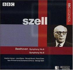 Beethoven: Symphony No. 8; Symphony No. 9