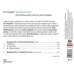Per Norgard: Symphonies Nos. 2 & 6
