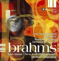 Brahms: Sym Nos 1 - 4 / Overtures / Requiem