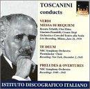 Verdi: Requiem, Te deum, Preludes & Overtures