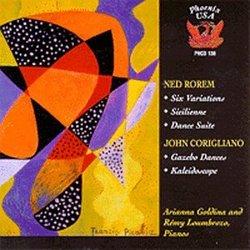 Corigliano & Rorem: Works for Two Pianos