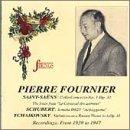 Plays Saint-Saens, Schubert & Tchaikovsky
