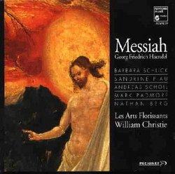 Handel - Messiah / Les Arts Florissants, Christie