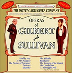 Operas of Gilbert and Sullivan