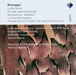 Honegger: Le Roi David / Monopartita
