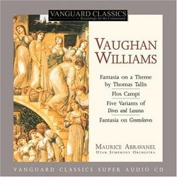 Vaughan Williams: Fantasia on a Theme by Thomas Tallis; Flos Campi; etc. [Hybrid SACD]