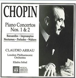 Chopin: Piano Concertos Nos. 1 & 2 + 12 other works