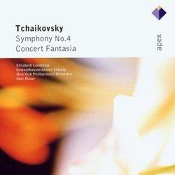 Tchaikovsky: Sym No 4 / Concert Fantasia