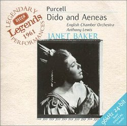 Purcell: Dido and Aeneas / James, Lewis, Baker, Herincx