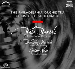 Bartók: Concerto for Orchestra; Martinu: Memorial to Lidice; Klein: Partita for Strings [Hybrid SACD]