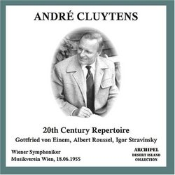 André Cluytens conducts 20th Century Repertoire