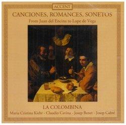 Canciones, Romances, Sonetos....