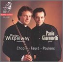 Plays Cello Works By Chopin, Faure & Poulenc