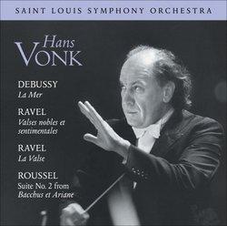 Debussy: La Mer; Ravel: Valses nobles et sentimentales; Ravel: La Valse; Roussel: Suite No. 2 from Bacchus et Ariane
