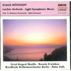 Wüsthoff: Leichte Sinfonik/Light Symphonic Music, Vol.2: Solo Concerti / Falk